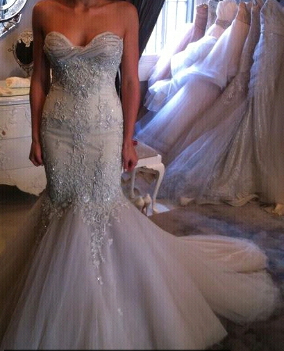 Steven khalil its all about the detail stylingcouture for Steven khalil mermaid wedding dress